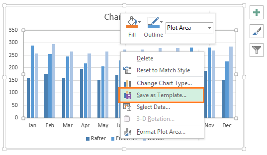 Saving Chart Template in Excel 2013