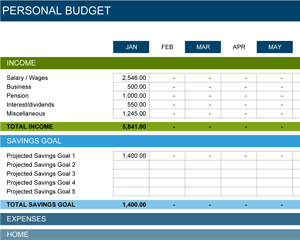Creating Personal and Family Budget in Microsoft Excel thumbnail