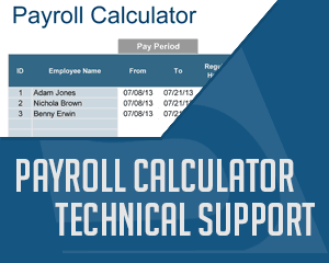 Technical Support for Payroll Calculator Pro thumbnail