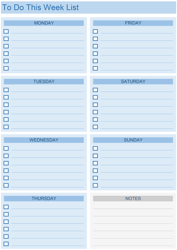 Daily to do list templates for excel daily to do list with notes maxwellsz