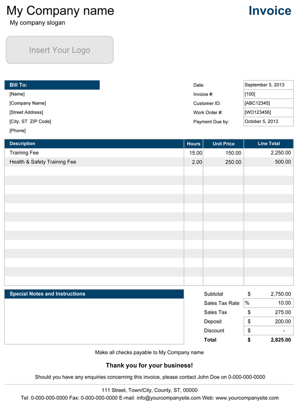 Opportunitycaus  Marvelous Service Invoice  Professional Service Invoice Templates For Excel With Hot Service Invoice With Hourly Rate With Delightful Customizable Invoices Also Free Invoice Word Template In Addition Printable Blank Invoice Forms And Ballpark Invoicing As Well As Best Invoice Software Mac Additionally Open Invoicing From Spreadsheetcom With Opportunitycaus  Hot Service Invoice  Professional Service Invoice Templates For Excel With Delightful Service Invoice With Hourly Rate And Marvelous Customizable Invoices Also Free Invoice Word Template In Addition Printable Blank Invoice Forms From Spreadsheetcom