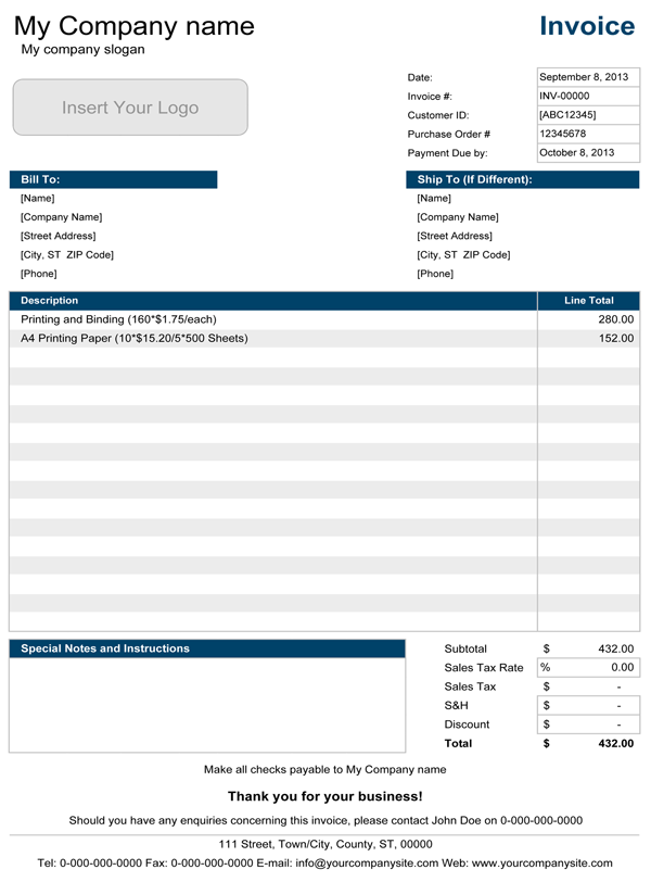 Opportunitycaus  Marvelous Basic Invoice  Simple Invoice Template For Excel With Likable Simple Invoice Template With Lovely How To Send A Invoice On Paypal Also Trucking Invoice Template In Addition Sending An Invoice And Free Template For Invoice As Well As Excel Invoice Template Free Additionally Quickbooks Export Invoice To Excel From Spreadsheetcom With Opportunitycaus  Likable Basic Invoice  Simple Invoice Template For Excel With Lovely Simple Invoice Template And Marvelous How To Send A Invoice On Paypal Also Trucking Invoice Template In Addition Sending An Invoice From Spreadsheetcom