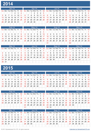 Two in One Calendar Screenshot
