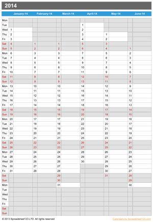 Year Planner Screenshot