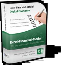 Excel-Financial-Model DE (for Digital Economy Business Models)