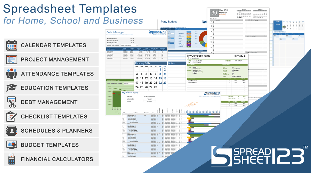 free budget spreadsheets and budget planners for excel spreadsheet123