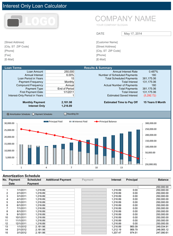 View Screenshot Simple Interest Loan Calculator