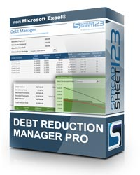 Free Debt Reduction Manager for Excel