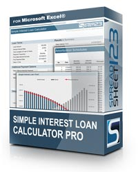Simple Interest Loan Calculator Pro Screenshot