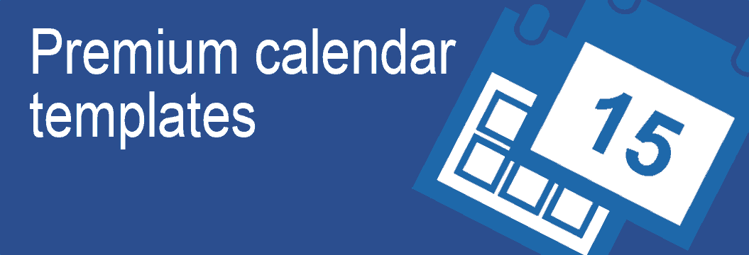 Browse all Calendar Templates