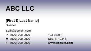 Purple Business Card - 8.1 Screenshot